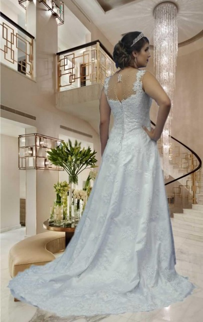 Noiva Evasê - cod: 301a