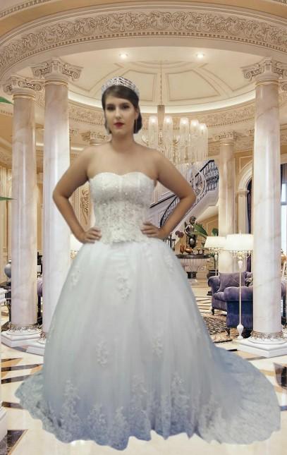 Noiva Princesa - cod: 401