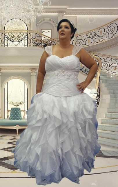 Noiva Plus Size Princesa - cod 803