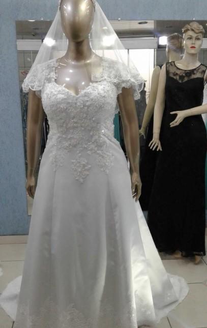 Noiva Plus Size Evasê - cod: 707