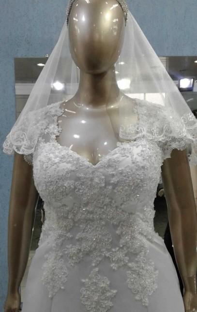 Noiva Plus Size Evasê - cod: 707a