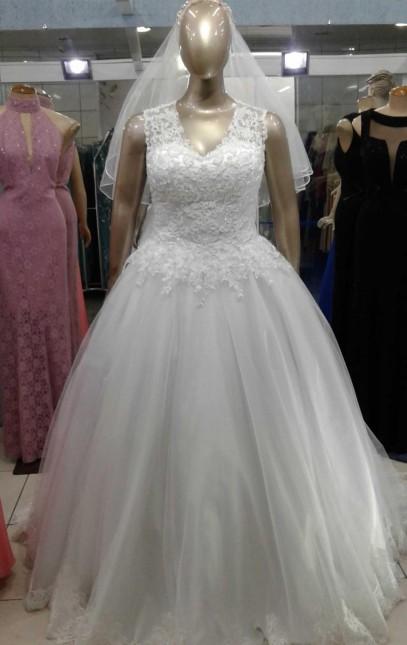 Noiva Plus Size Princesa - cod: 808