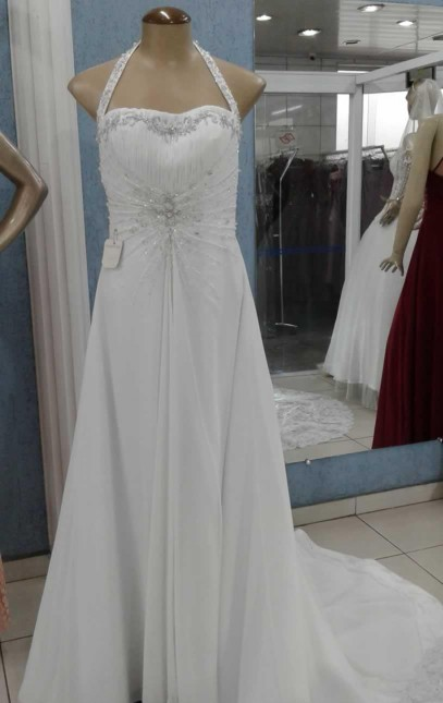 Vestido Noiva Civil - cod: 201