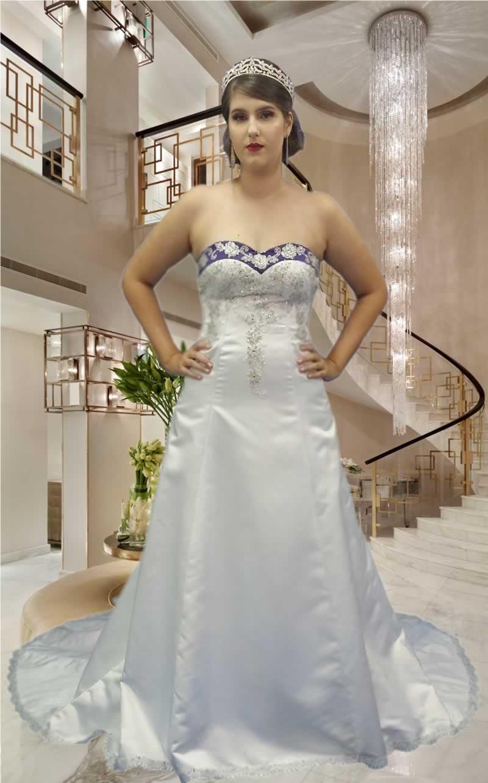 Noiva Evasê - cod: 300