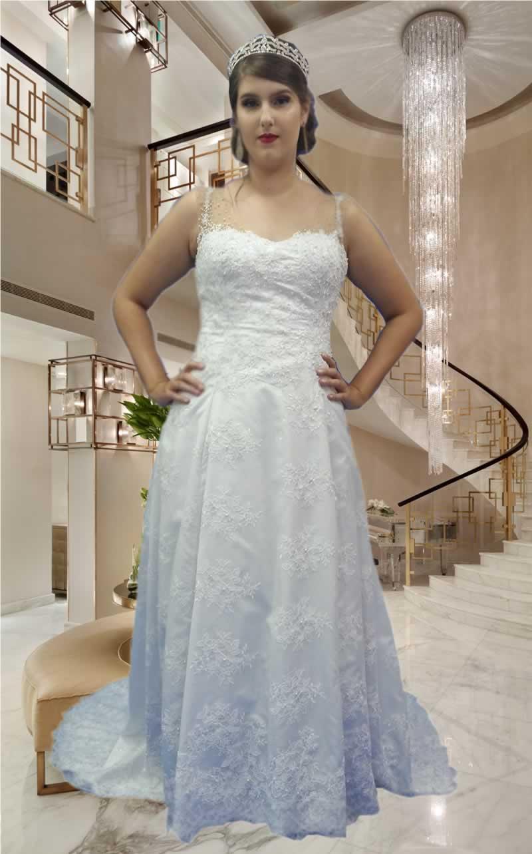 Noiva Evasê - cod: 301