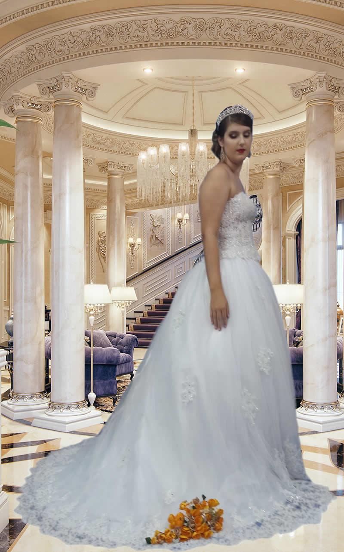 Noiva Princesa - cod: 401b