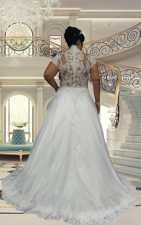 Noiva Plus Size Princesa - cod. 800