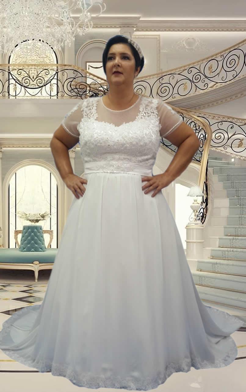 Noiva Plus Size Princesa - cod 805