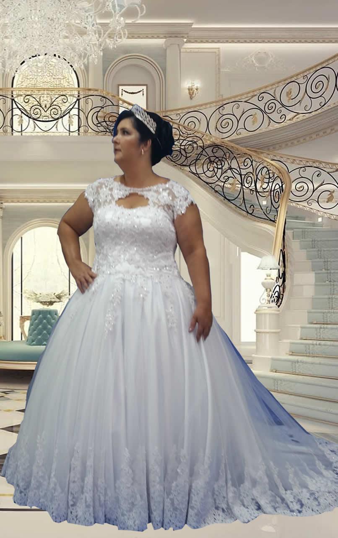 Noiva Plus Size Princesa - cod 806