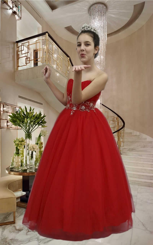 Vestidos Debutantes - cod: 123b