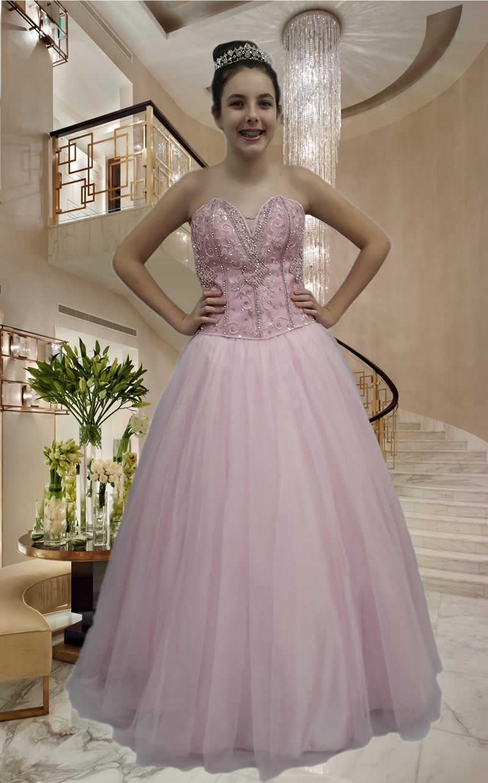 Vestidos Debutantes - cod: 124
