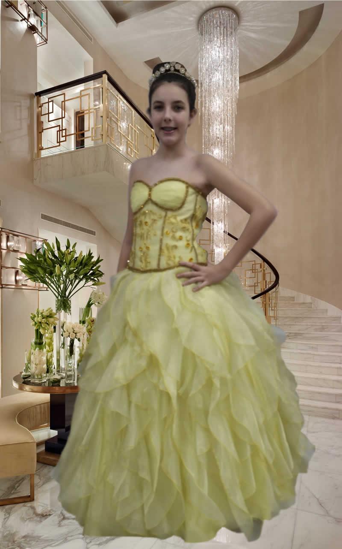 Vestidos Debutantes - cod: 126a