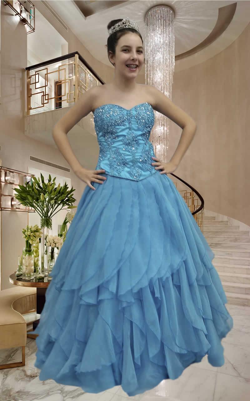 Vestidos Debutantes - cod: 127