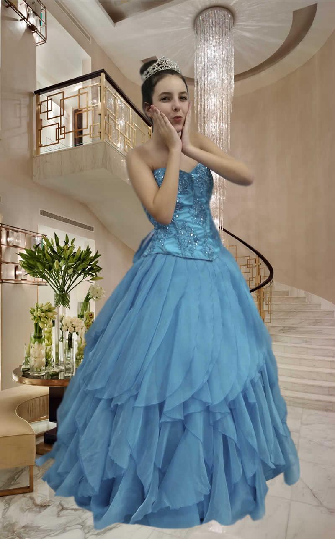 Vestidos Debutantes - cod: 127a