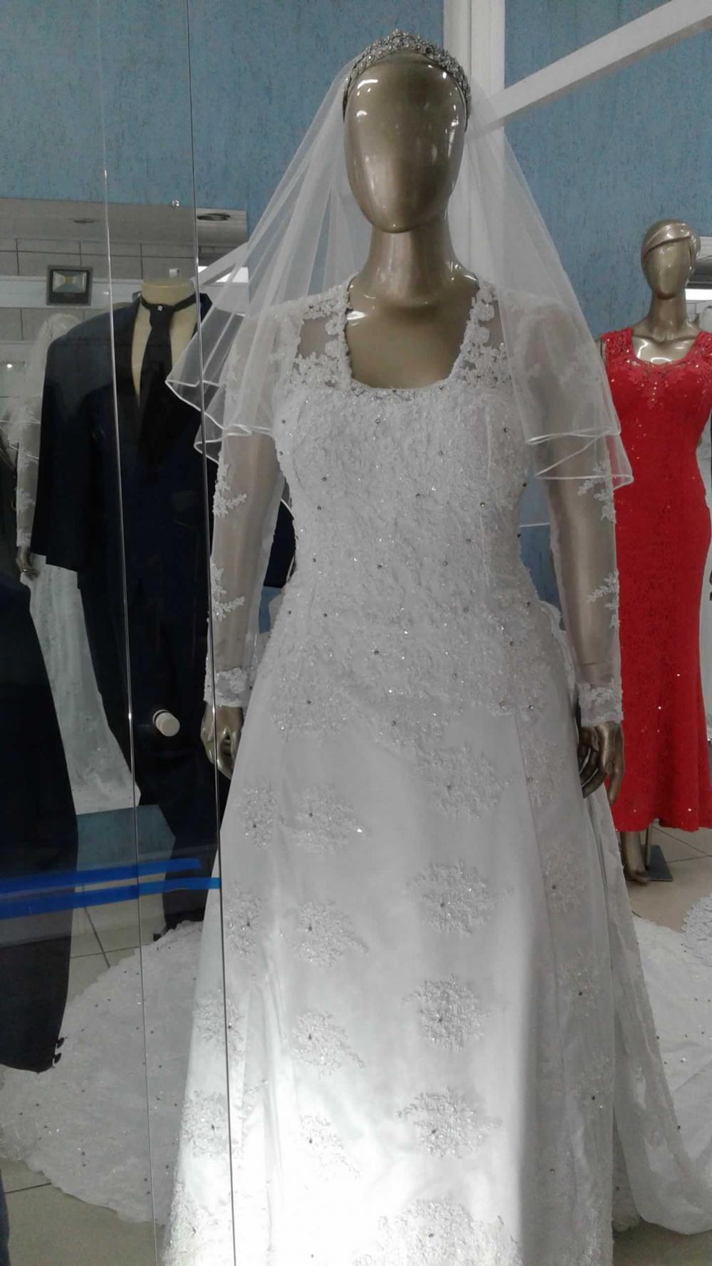 Noiva Plus Size Evasê - cod: 705