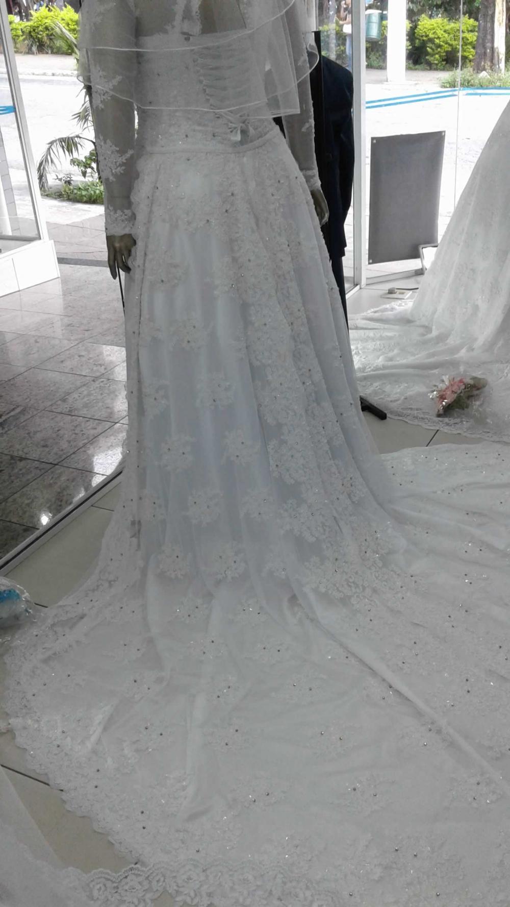 Noiva Plus Size Evasê - cod: 705c