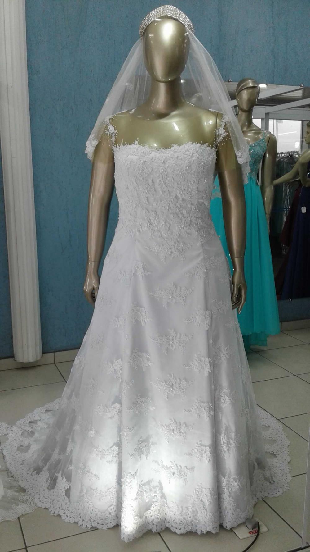 Noiva Plus Size Evasê - cod: 706