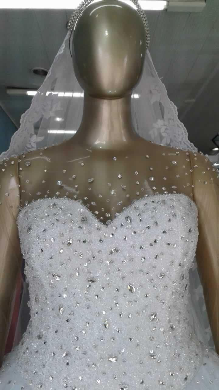 Noiva Plus Size Princesa - cod: 810b