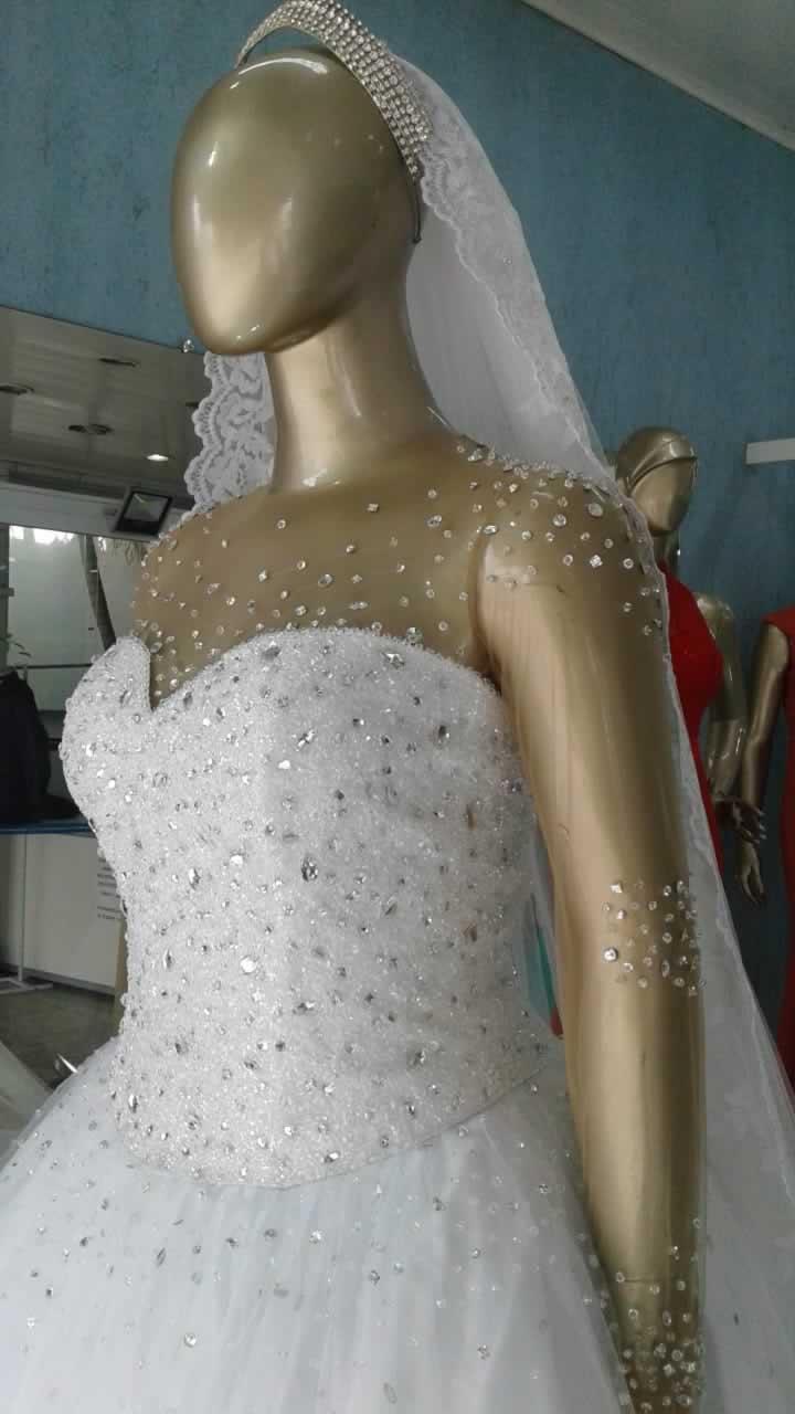 Noiva Plus Size Princesa - cod: 810c