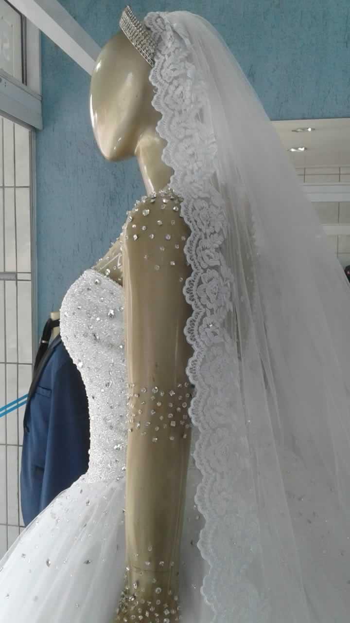 Noiva Plus Size Princesa - cod: 810d