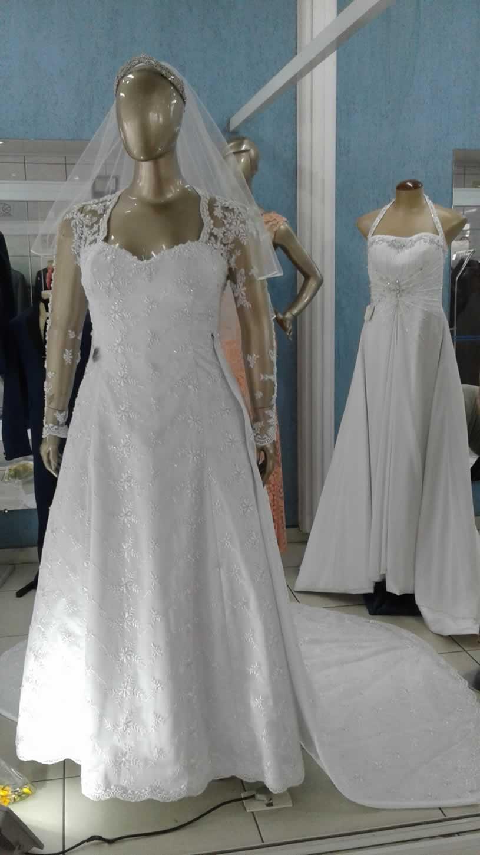 Noiva Plus Size Evasê - cod: 708