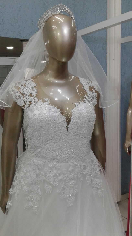 Noiva Plus Size Princesa - cod: 811a